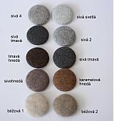 Ozdoby do vlasov - Gumičky do vlasov s kašmírovými buttonkami veľa farieb na výber - 4056258_