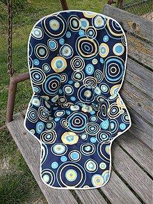 Textil - Poťah na stoličku Zopa z nepremokavej kočíkoviny - 4055724_