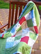 Úžitkový textil - tu bodka, tam bodka = DEKA - 4054778_
