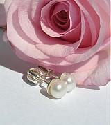 Náušnice - ...len perla? - 4060131_