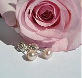 Náušnice - ...len perla? - 4060136_