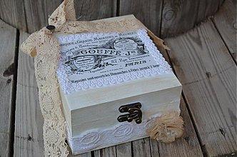 Krabičky - Vintage šperkovnička - 4060161_
