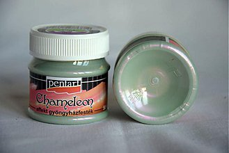 Farby-laky - Chaméleon farba 50 ml, zelená-fialová - 4059417_