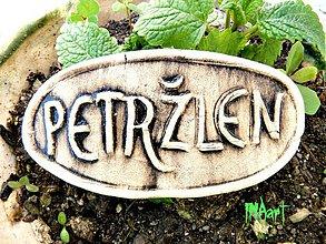 Dekorácie - Zápich Petržlen - posledné ks - 4060194_
