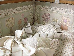Textil - postieľka vintage - 4059986_