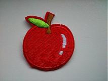 Aplikácia / nažehlovačka jabĺčko