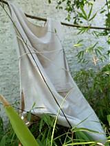 Šaty - Ľanové šaty - 4058536_
