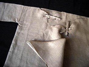 Detské oblečenie - Košieľky detské - ľanové - 4062818_