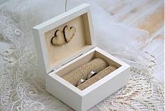 - Krabička na prstienky Rustic II. - 4061852_