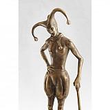 Šašo - bronzová socha - originál