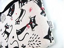 Na notebook - Tak jóóó kočky - taška na notebook, netbook.... - 4064495_
