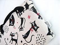 Na notebook - Tak jóóó kočky - taška na notebook, netbook.... - 4064496_