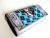 Peňaženky - VOGUE Heart - luxusní peněženka až na 12 karet - 4065196_