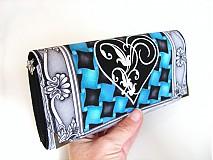 Peňaženky - VOGUE Heart - luxusní peněženka až na 12 karet - 4065198_