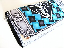 Peňaženky - VOGUE Heart - luxusní peněženka až na 12 karet - 4065201_
