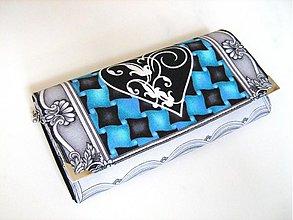 Peňaženky - VOGUE Heart - luxusní peněženka až na 12 karet - 4065195_
