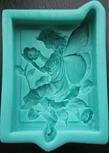 Pomôcky/Nástroje - Silikónová forma anjelik - víla - 4065934_