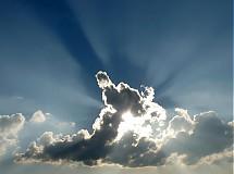 Fotografie - Slnko za oblakom - 4067093_