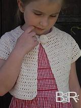 Detské oblečenie - los boleros mini biele - 4068404_