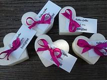 Darčeky pre svadobčanov - plávajúce sviečky pre hostí/cyklamén - 4066514_