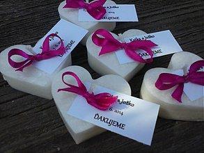Darčeky pre svadobčanov - plávajúce sviečky pre hostí/cyklamén - 4066512_