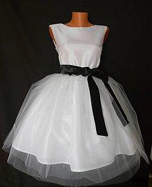 Šaty - Svadobné jednoduché šaty - 4071281_