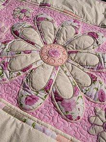 Úžitkový textil - Originál s kvetom No.2 :) - 4069884_