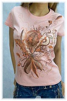 Tričká - tričko jemné konáriky - 4075372_
