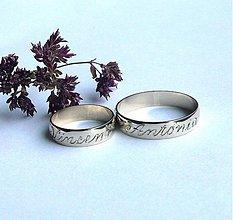 Prstene - Naše mená navrch... - 4077809_