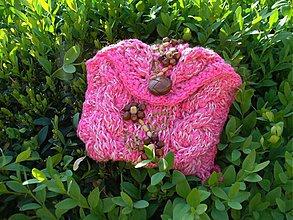 Taštičky - Taštička - Ružová Pantomíma - 4076015_