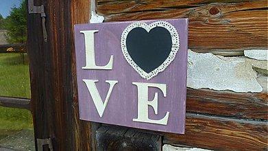 Tabuľky - LOVE - 4082439_