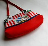 Detské tašky - červená loďková - 4081013_