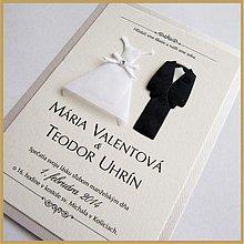Papiernictvo - Svadobné oznámenie ~Wedding III.~ - 4080926_