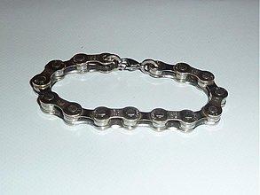 Šperky - Náramok z bicyklovej reťaze - 4086260_
