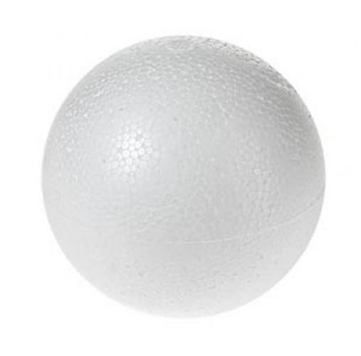Polystyrénová guľa 8 cm