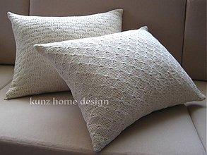 Úžitkový textil - obliečka obdĺžnik DECOR knit A - 4084632_
