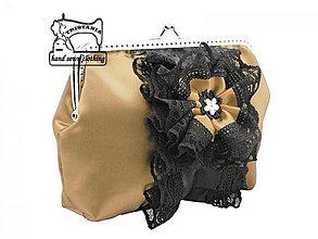 Kabelky - Dámská spoločenská kabelka , taštička  1335A - 4087465_