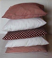 Úžitkový textil - Romantický vidiek Sada 5 obliečok - 4087323_