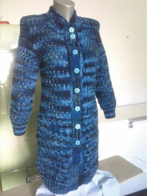 1c3910c54af4 Pletený dlhý sveter   terai - SAShE.sk - Handmade Svetre Pulóvre