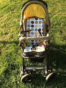 Textil - Podložka do kočíka Jané Nomad - 4089735_