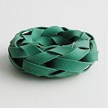 Náramky - Gumináramek zelený - 4089507_