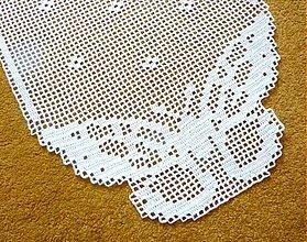 Úžitkový textil - Motýliková, biela - 4089539_