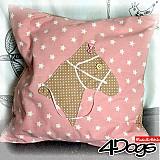Úžitkový textil - Vankúš s koníkom - 4089474_