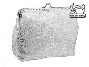 Kabelky - Svadobná kabelka, kabelka pre nevestu  1375A - 4093605_