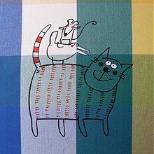 Úžitkový textil - PROVOKACÉÉÉ !!! - napron 70x70 cm - 4092194_