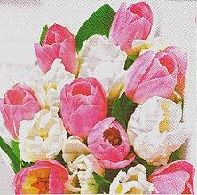 Papier - 280 rozkvitnuté tulipány - 4092922_