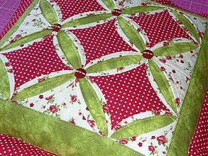 Úžitkový textil - Návliečka - Katedrálové okná. - 4095205_