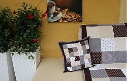 Úžitkový textil - vankuš alebo prehoz akýkoľvek rozmer - 4099771_