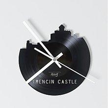 Hodiny - Trencin Castle - vinylové hodiny na Singli - 4097323_