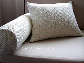 Úžitkový textil - obliečka valec DECOR knit B - 4098923_